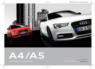 Audi A4/A5 S line competition