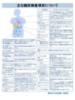 臨床検査の基準値及び説明 平成26年5月改訂