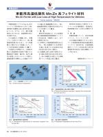 車載用高温低損失Mn-Zn 系フェライト材料 (PDF: )