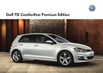Golf TSI Comfortline Premium Edition