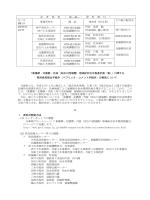 記 者 発 表 ( 発 表 ・ 資 料 配 付 ) 月/日 (曜日) 事務所等名 電 話 発表者