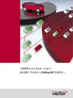 プロダクトインフォメ-ション: GL ロガ-ファミリ-/CANlog 用アクセサリ-