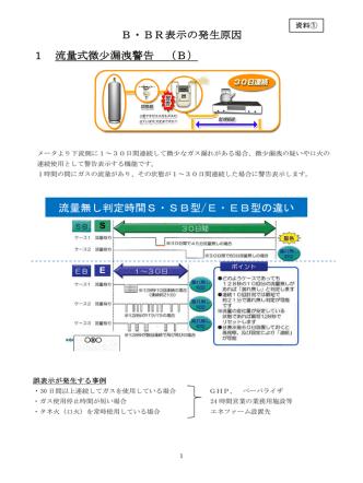 2014/07 ① B・BR表示の発生原因