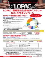 LOPAC®薬理活性化合物ライブラリー 20% OFF - Sigma