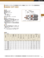 (3層同時押出) 6600V CVT(EE)