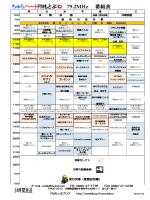 ちゅらハートFMもとぶ 79.2MHz 番組表