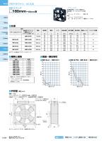 プロペラファン/AC入力 MRシリーズ D180mm ー65mm厚 仕様 風量