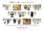 英国のジャグ展 ∼ Jugs by British Potters Gallery St. Ives