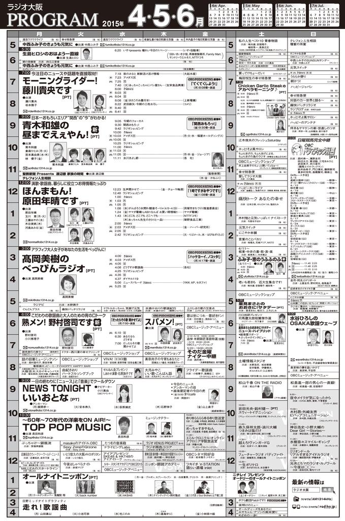 PT - ラジオ大阪