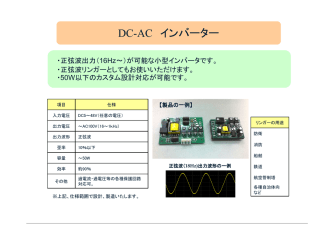 DC-AC インバーター