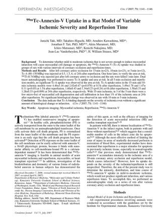 (99m)Tc-Annexin-V uptake in a rat model of variabl