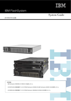 IBM FlashSystem System Guide