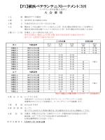 【F1】横浜ベテランテニストーナメント:5月 - JOP
