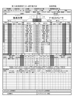 松本大学 Y・Sエストレーラ