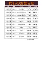 日付 クラス名 時間 変更前 変更後;pdf