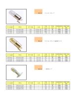 商品名 ソケットレスランプ 全長 光束 定格寿命 外箱入数 (mm) (lm) (h