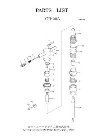 CB-20A - 日本ニューマチック工業
