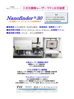 Nanofinder ®30