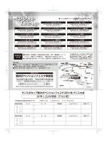 Line up - サンスポカップ軽井沢ペンションフェスタテニス大会