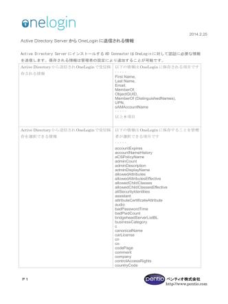 ADから送信される情報に関して (PDF)