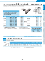 大径用ツインカット - Showa Tool