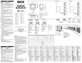 8013319-YBL7 Quickstart OLM100/OLM100 Hi ML