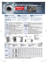 RM-64/RM-25/RM-9用推奨録画サーバー カタログ 掲載日
