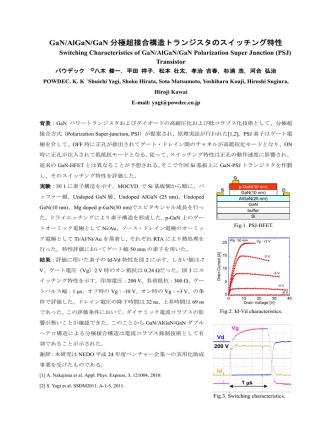 2014年春季応用物理学会学術講演会発表(予稿)
