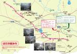 《はだの桜みち》案内図【PDF:555KB】