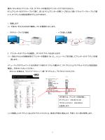 IP アドレスの設定をプリンターだけでは行えません。