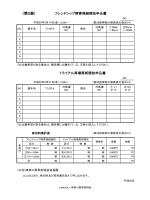 (第5表) - 社団法人 神奈川県馬術協会