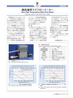 超高温用マスフローメーター (PDF: )