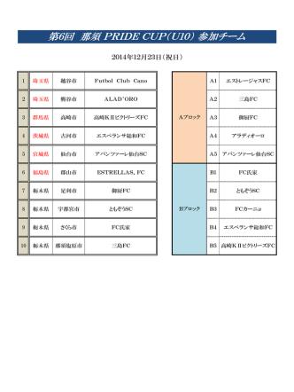 12/23 那須PRIDE CUP U-10