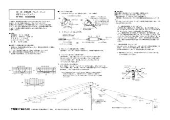 10・18・24MHz帯 インバーテット V型ワイヤーアンテナ MT