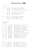 デモ出演者リスト