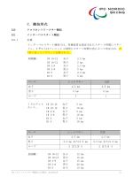ルールブック セクション2 C - 障害者クロスカントリースキー 日本チーム
