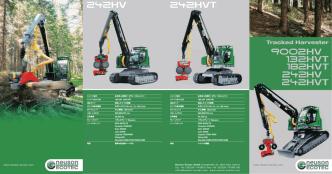 183 kW(245 HP) 2 x 152 l/min 920/295/370 cm 23500 kg Neuson