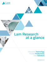 Lam Research at a glance
