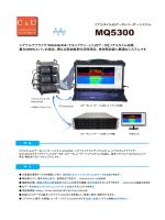 リアルタイムIQデータレコーダーシステム MQ5300カタログ