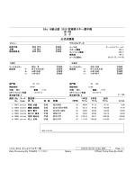 SAJ B級公認 2015 宮城県スキー選手権 第1戦 女 子 公式成績表