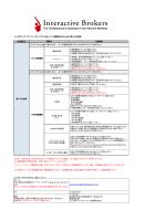IBLLC(米国法人) - インタラクティブ・ブローカーズ証券