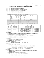 平成27年度 東三河小学生春季合同記録会