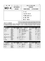 ミツビシ ニッサン 高 さ 50mm フルフロータイプ ネジ径 M20×1.5 外 径