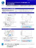エンジニアリングプラスチックの紫外線による 劣化状態評価
