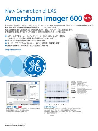 Amersham Imager 600
