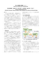 国土広域情報の整備について Renewal of Small-Scale