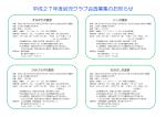 平成27年度幼児クラブ会員募集のお知らせ