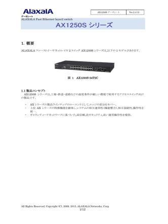 AX1250S【Ver.2.4】(第2版)(PDF形式、759kバイト)