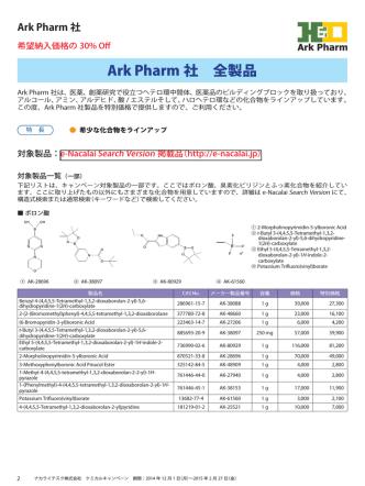 Ark Pharm 社 全製品