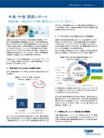 外食・中食 調査レポート - エヌピーディー・ジャパン / NPD Japan